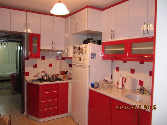 Кухня в двух цветах фото