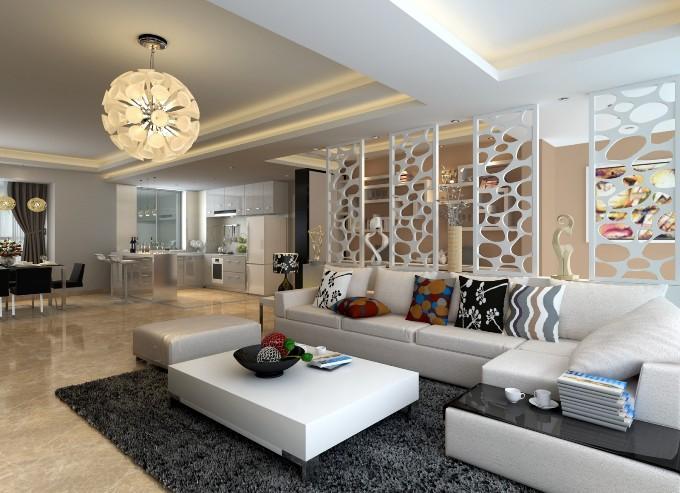 Декоративные перегородки в гостиной фото