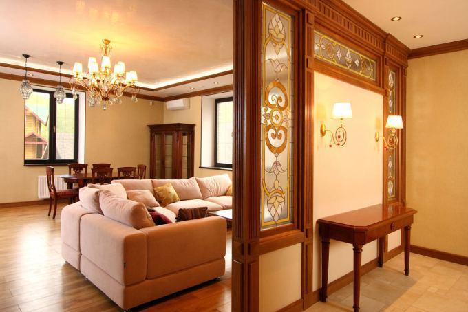 Декоративные перегородки для зонирования комнаты: виды, фото, устройство
