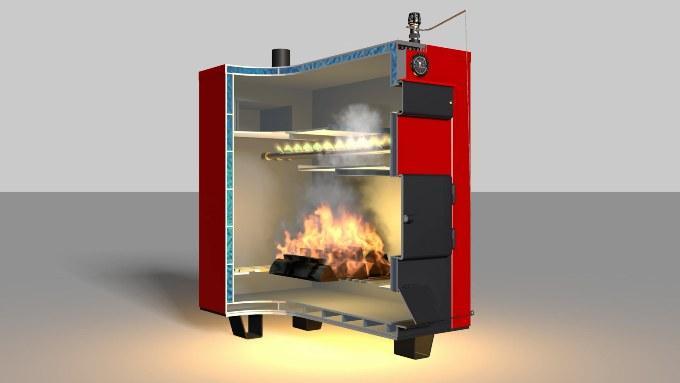 Котельное оборудование - пиролизный котел длительного горения