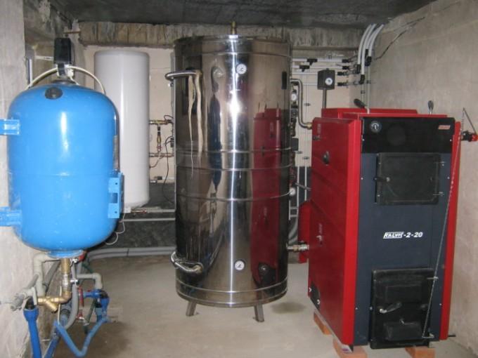 Буферная емкость для котлов отопления - схема подключения, расчет, назначение