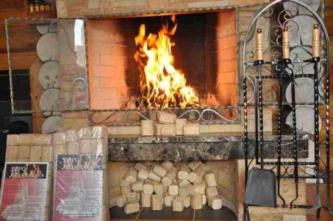 Отопление дома евродровами