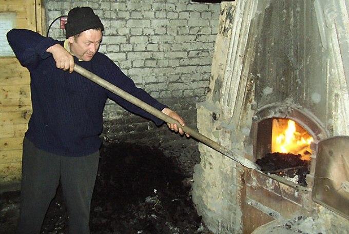 Отопление дома углём