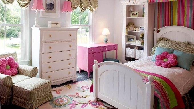 Как оформить комнату для девочки фото