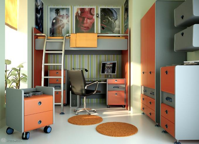 Дизайн детской– 12 кв.м