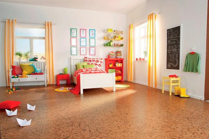 напольное покрытие в детскую комнату