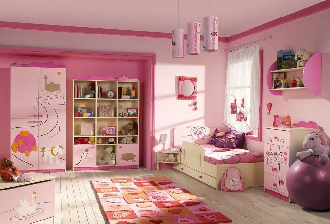 Как оформить детскую комнату - подбор расцветок для детской комнаты