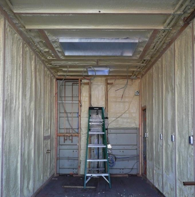 Как утеплить дом из контейнеров