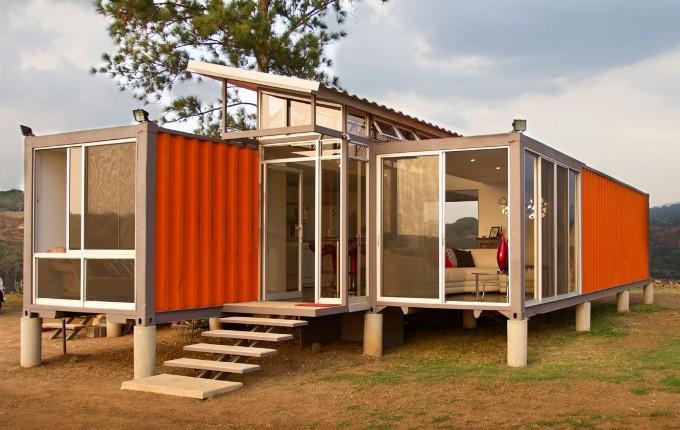 Дом из морских контейнеров: проекты, строительство, утепление, цена