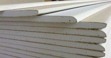 Расход гипсокартона и материалов на 1м2 потолка, стены и перегородки