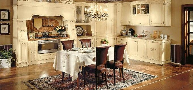 Фото интерьера кухни в английском стиле