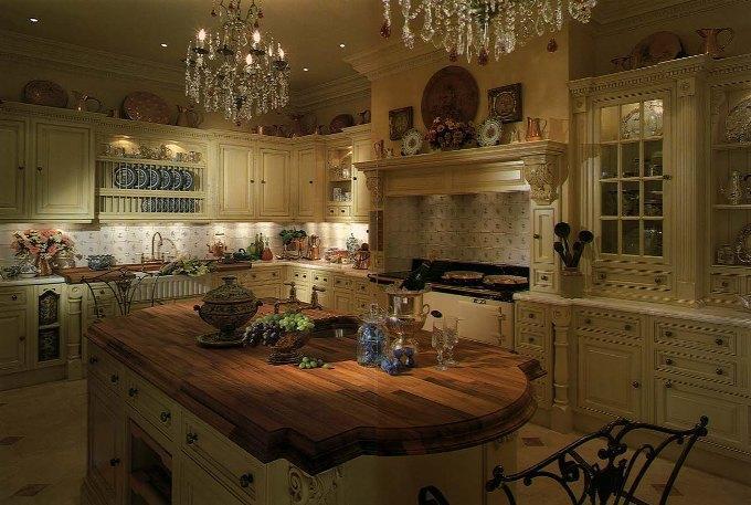 Кухня в английском стиле: дизайн, фото интерьера