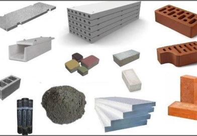 Плотность строительных материалов. Таблица