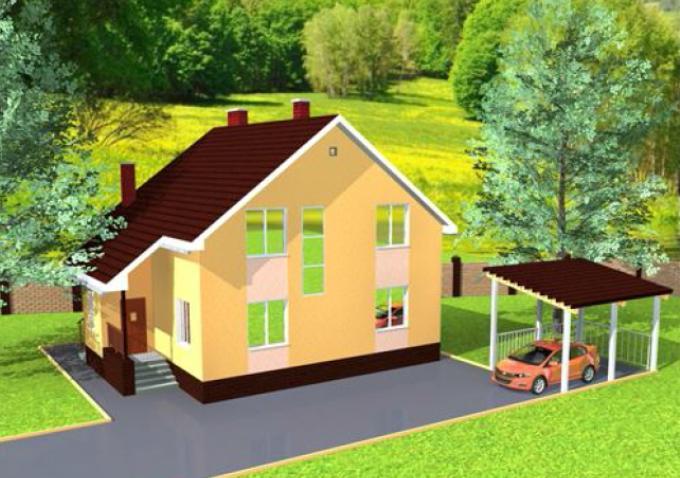 Проект жилого дома из газобетона 150 м2. Скачать