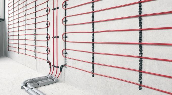 Принцип работы теплых стен