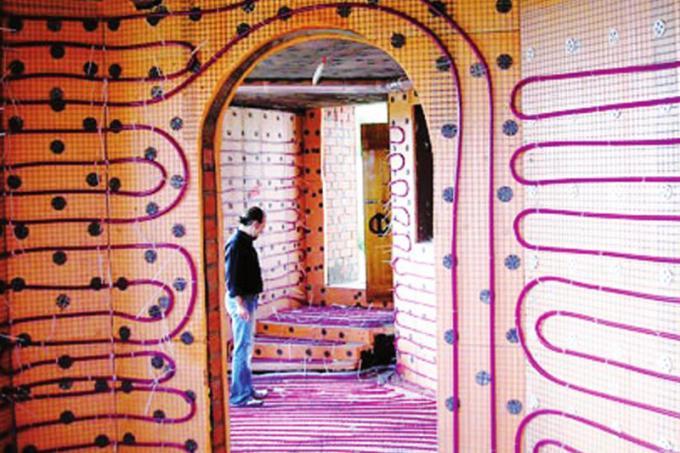 Уменьшение теплопотерь через теплые стены, конструктивными решениями