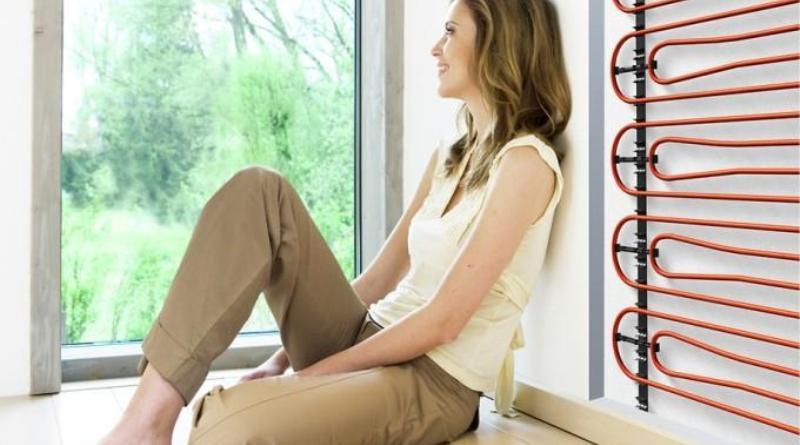 Теплые стены – отопления дома по технологии теплых полов