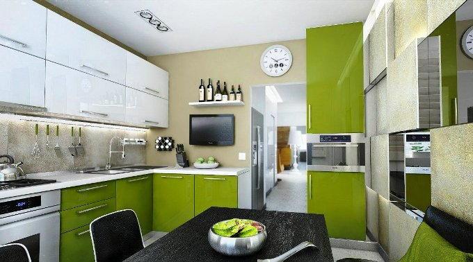 Как выбрать цвет кухни
