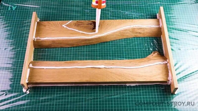 Процесс изготовления столешницы