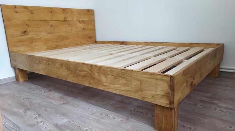 Кровать своими руками за 90$ из бруска и досок
