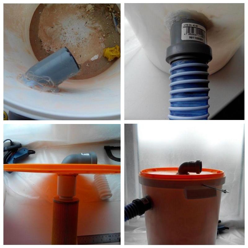 фильтр циклон из пластикового ведра