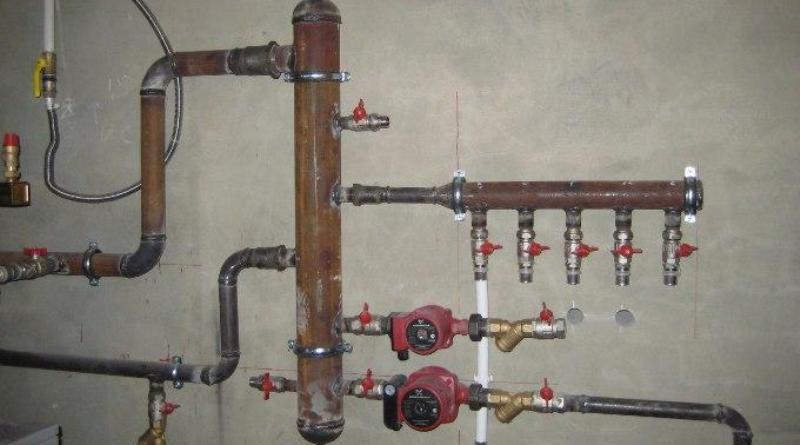 Гидрострелка для системы отопления