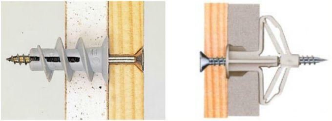 Как прикрепить деревянный брус к стене из гипсокартона