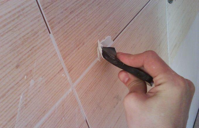 Как работать с затиркой для плитки