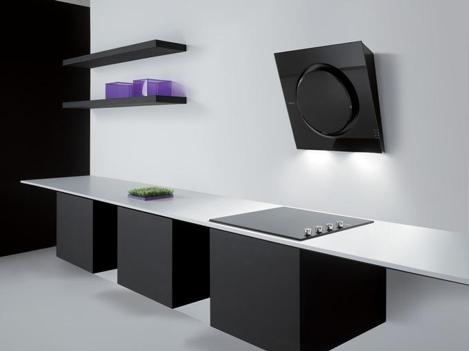 Современный дизайн вытяжки для кухни