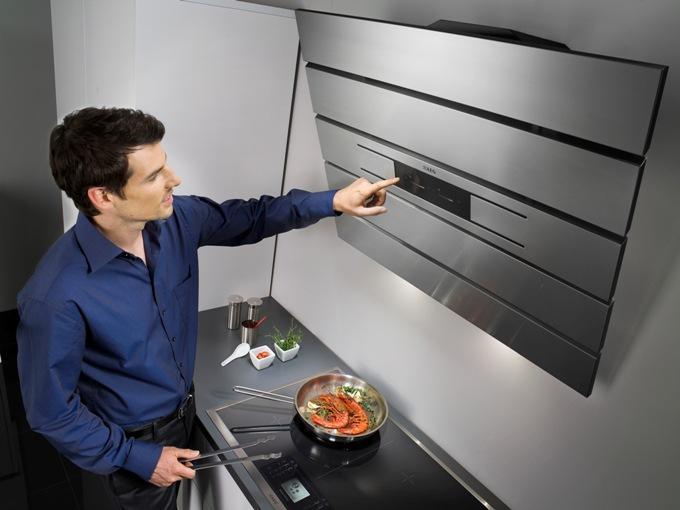 Как управлять кухонной вытяжкой. Как включить вытяжку