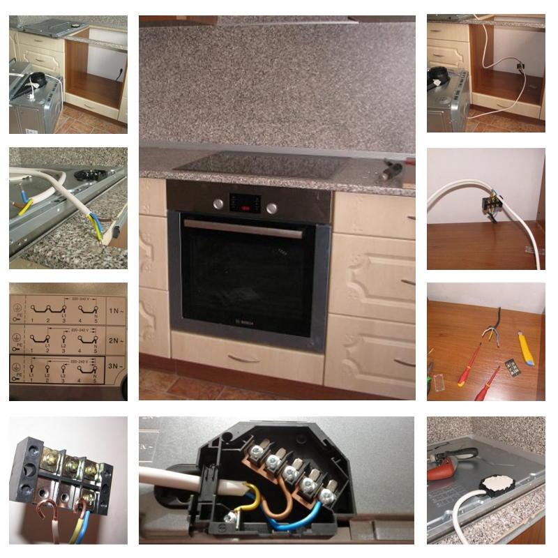 Как подключить электрическую варочную панель