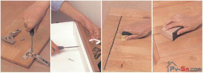 Как подготовить шкаф к покраске