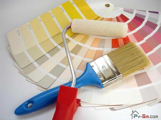 Инструменты для покраски шкафа