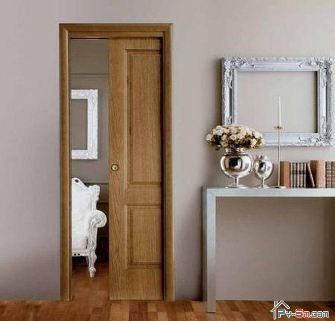 сдвижные двери в маленьких помещениях