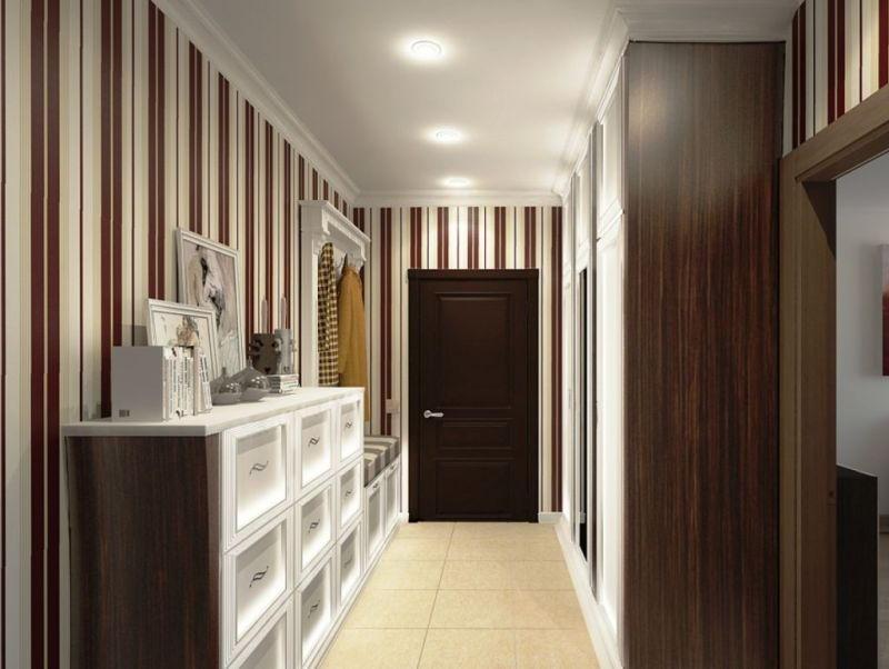 Дизайн длинных и узких коридоров
