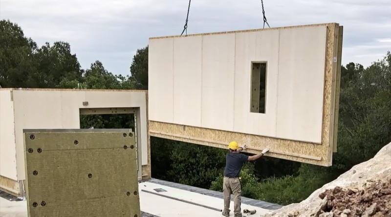 Технология каркасно-панельных домов