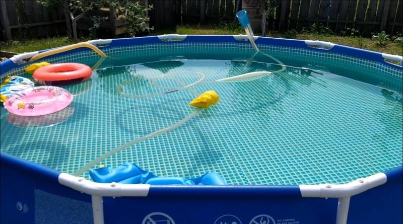 Как очистить воду в бассейне от железа без химии. Самый простой и дешевый способ!