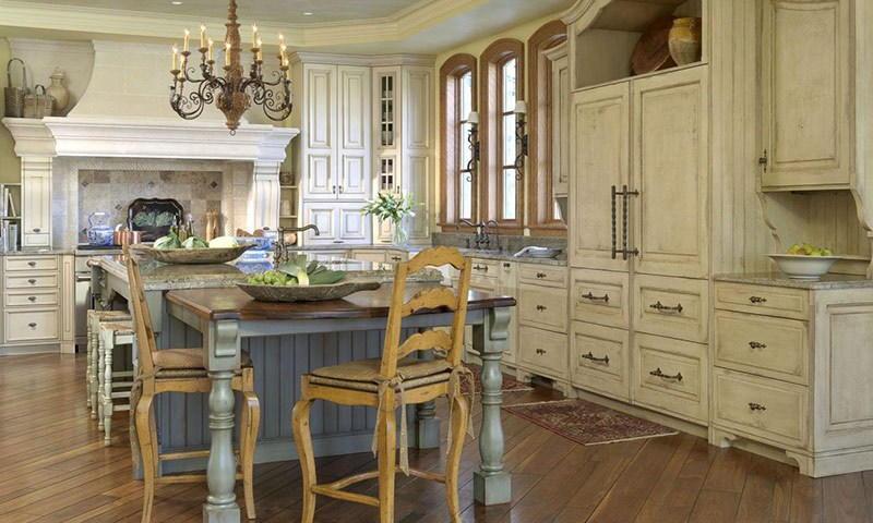 Аксессуары в стиле прованс кухни