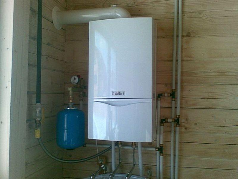 Отопление частного дома газовым котлом