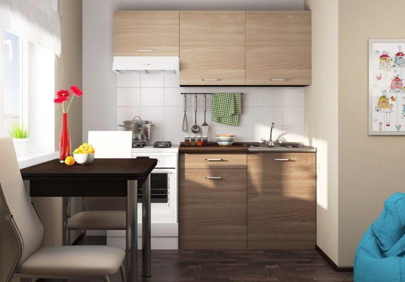 Оптимальное соотношение материалов и габаритов кухонного гарнитура