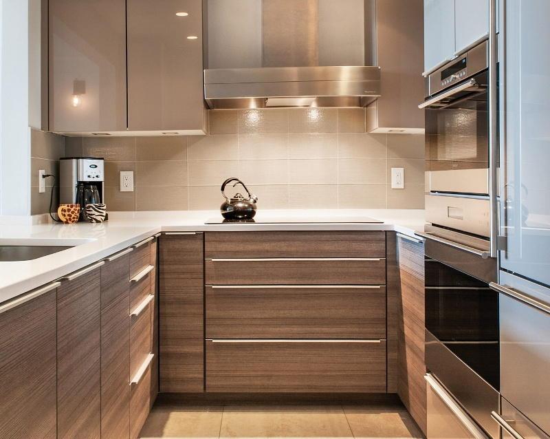 Размеры гарнитура для небольшой кухни