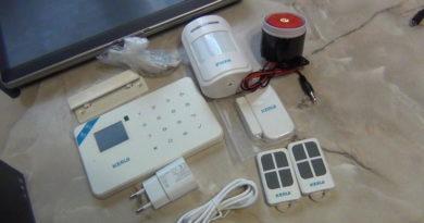WIFI / GSM сигнализация для дома, дачи и гаража — KERUI W18