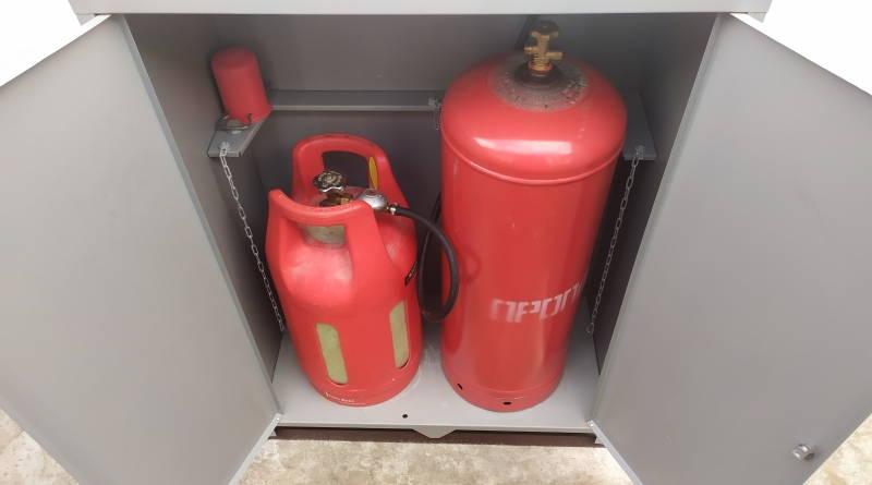 Газ в баллонах для дома