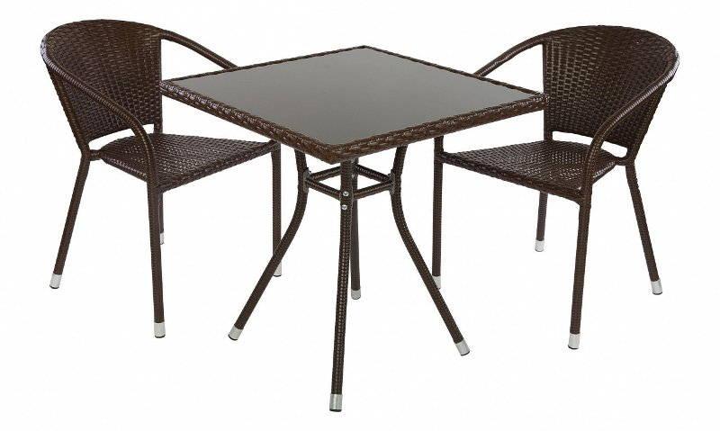Наиболее популярные модели садовых столов